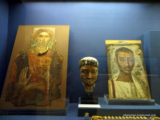 Музей Бенаки Фаюмские портреты