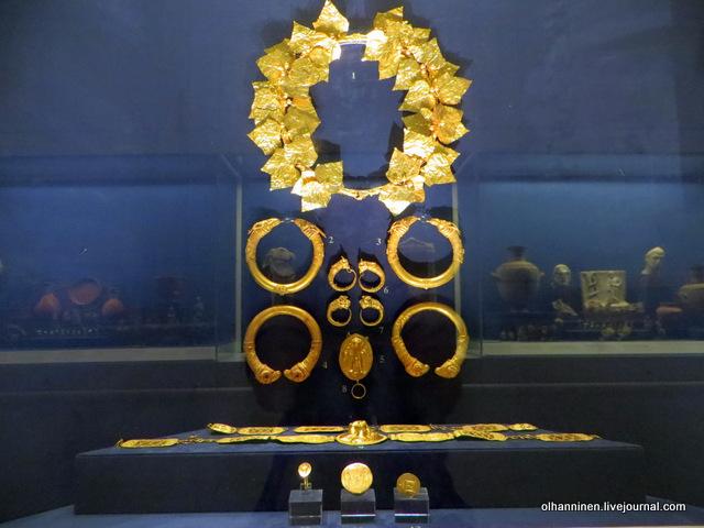 Музей Бенаки. Античные золотые украшения