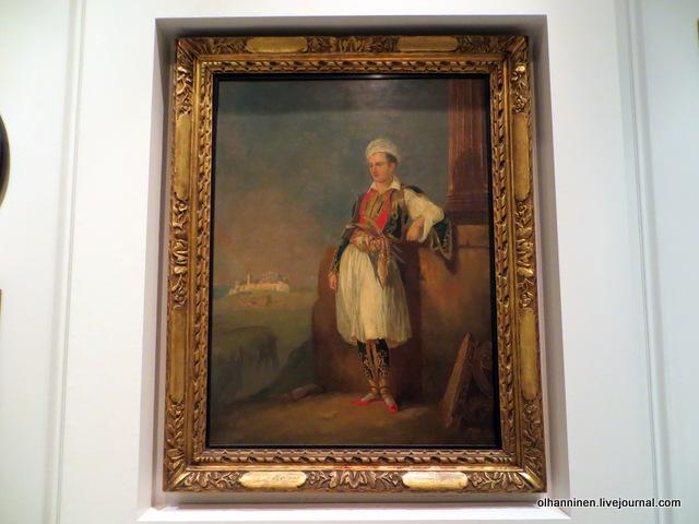 Музей Бенаки. Портрет лорда Байрона