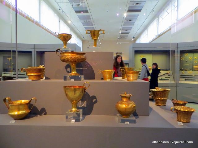 Национальный археологический музей. И другое троянское золото