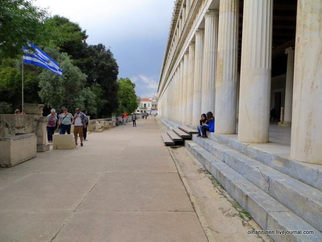 Стоя Аттала, музей Агоры