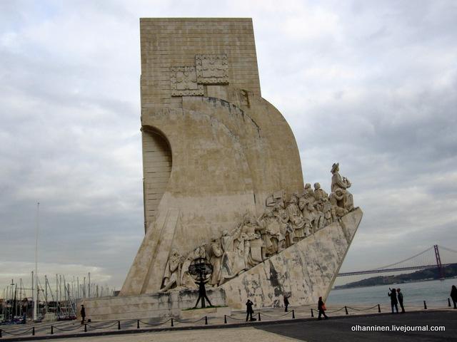 01 памятник португальским мореплавателям целиком