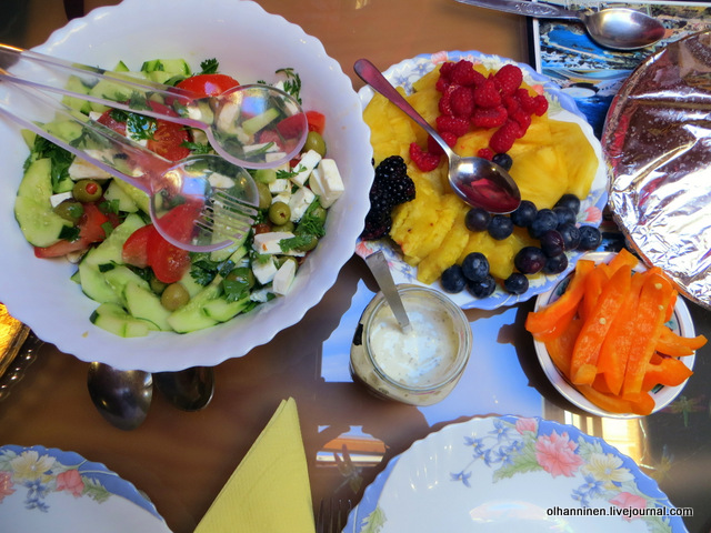06 салат с брынзой