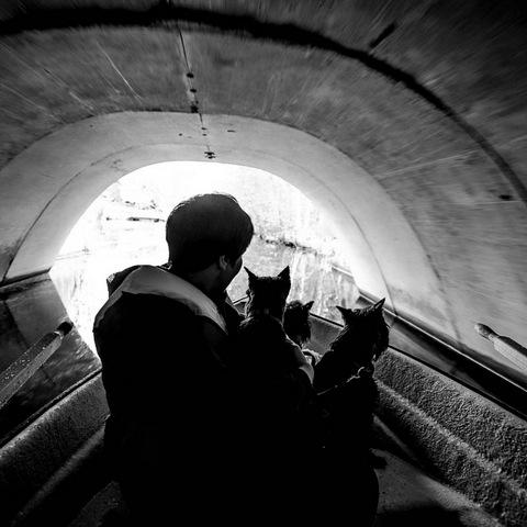 00 в туннеле