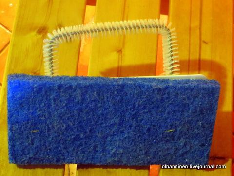 02 щетка ручная для сидений, моющая поверхность