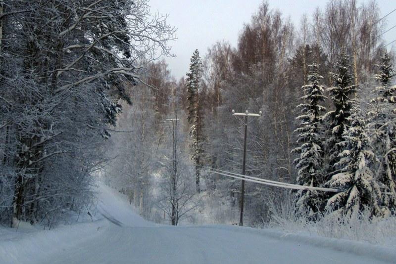 Когда мы ехали по такой холодине, я с ужасом представляла себе, что будет, если машина сломается