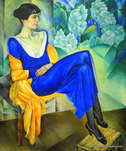 10 Портрет поэтессы А.А.Ахматовой