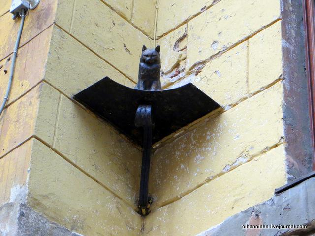 16 памятник кошке Малая Садовая