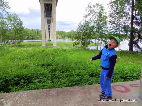 13 состязаться с эхо под мостом