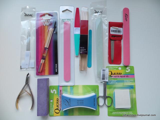 01 инструменты для ухода за ногтями