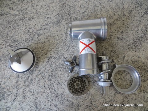 07 нельзя мыть эти детали комбайна в посудомойке