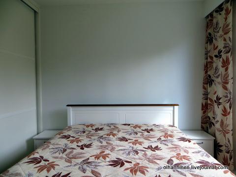 03 спальня от стены