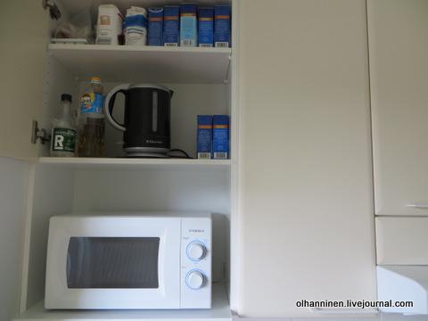 03 микроволновка, чайник, сахар соль, растительное масло