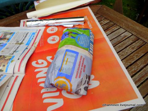 09 пакет с фольгой в газету
