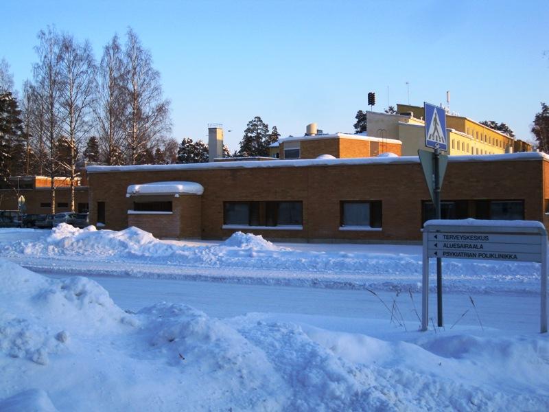 Медицинский центр в Варкаусе включает в себя поликлинику, станцию скорой помощи и больницу
