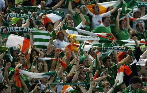 ирландские болельщики 2012