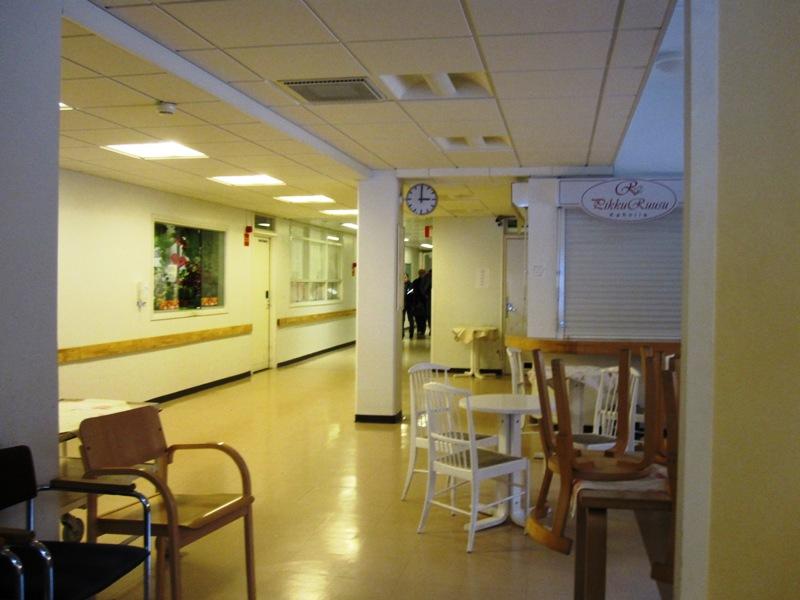 Кафе рядом с входом в поликлинику