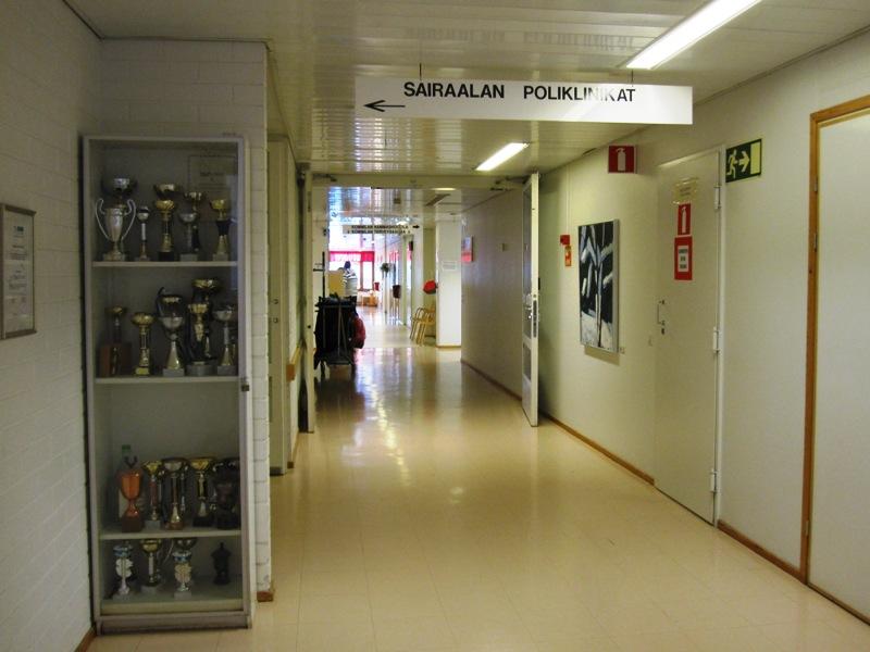 Призы, которые получал наш медицинский центр выставлены напротив окошечка регистратуры
