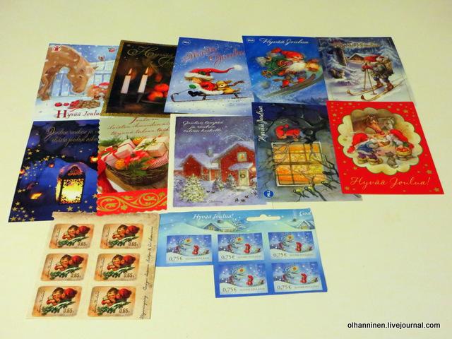 открытки марки 10 центов