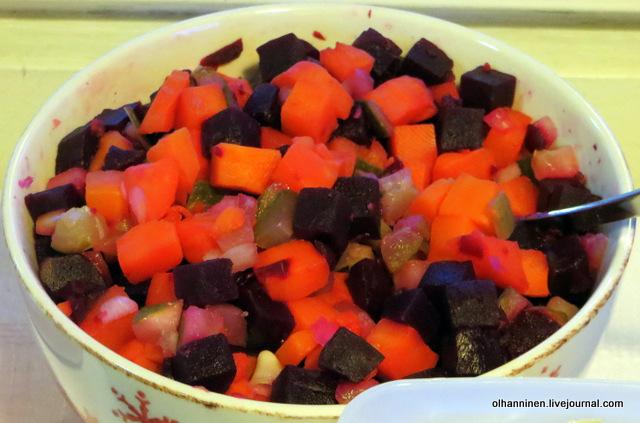 salaatti винегрет rosolli