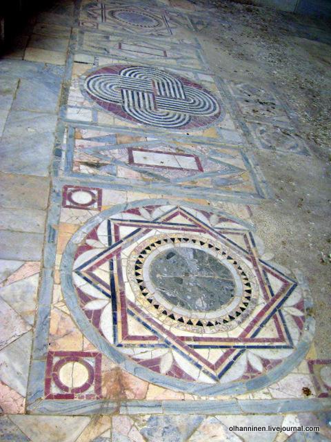 26 мозаика пола в синагоге