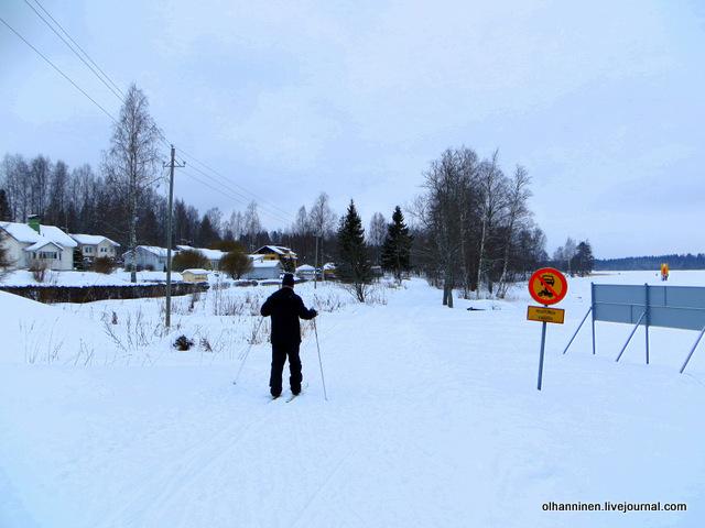 03 пошел на лыжах