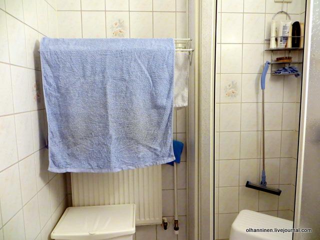 большое и маленькое полотенце