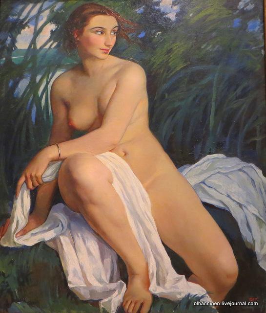 Купальщица Зинаида Серебрякова