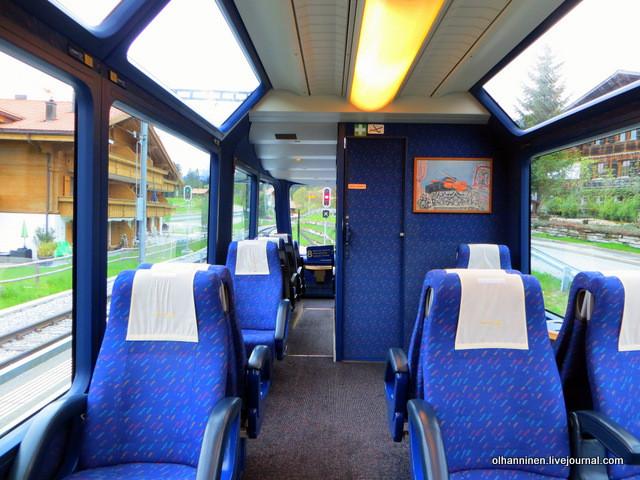 поезд Швейцария