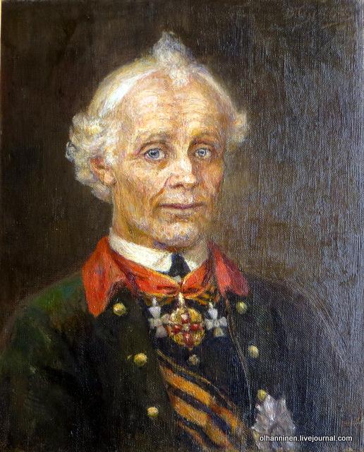 В.Суриков. Портрет полководца А.В.Суворова