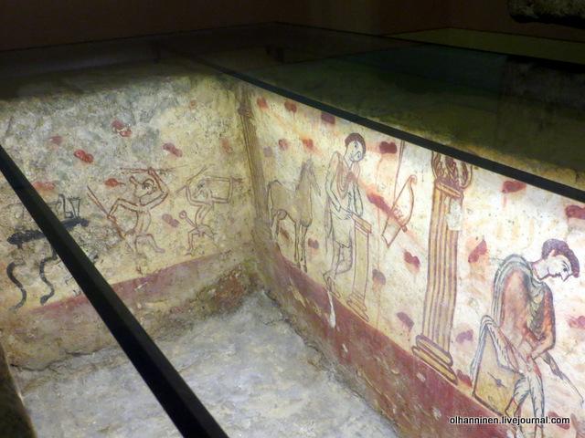 саркофаг внутри