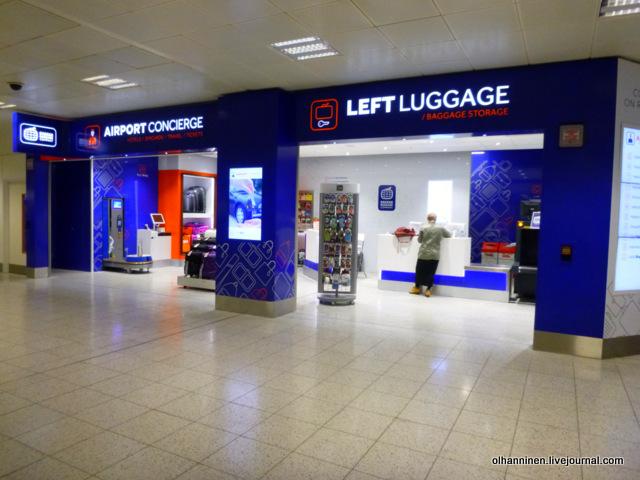 Gatwick Left Luggage