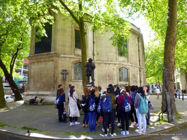 памятник Samuel Johnson