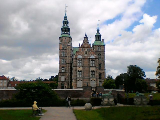 Розенборг дворцовый парк мама