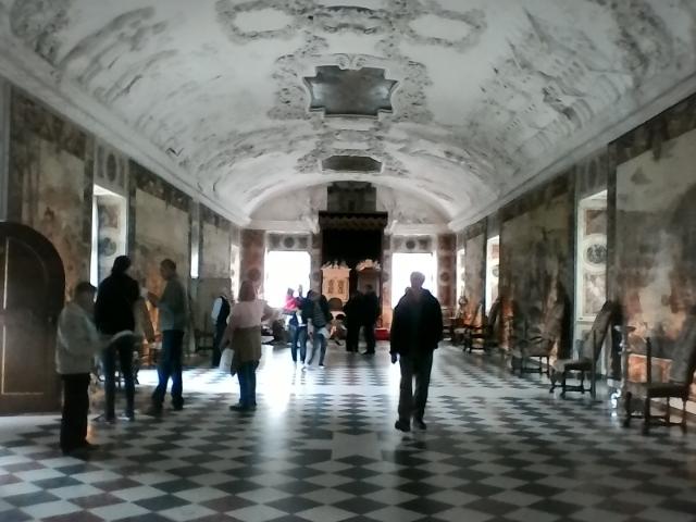 Розенборг третий этаж тронный зал два трона