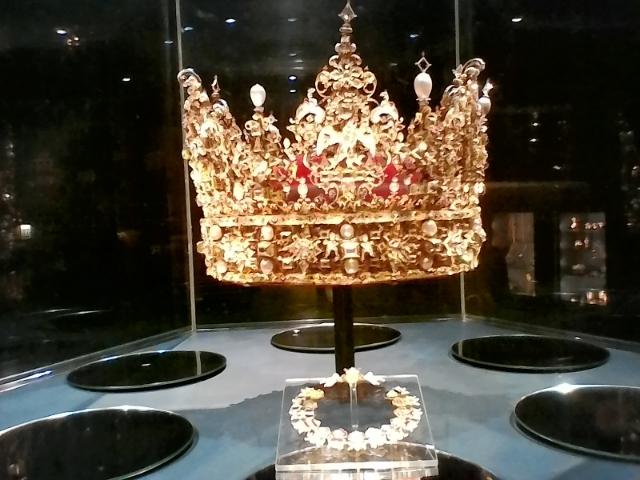 Корона Кристиана IV Розенборг сокровищница