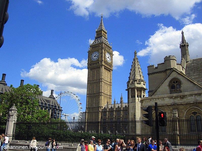 У Биг Бена есть точный адрес Parlament Square, SW1