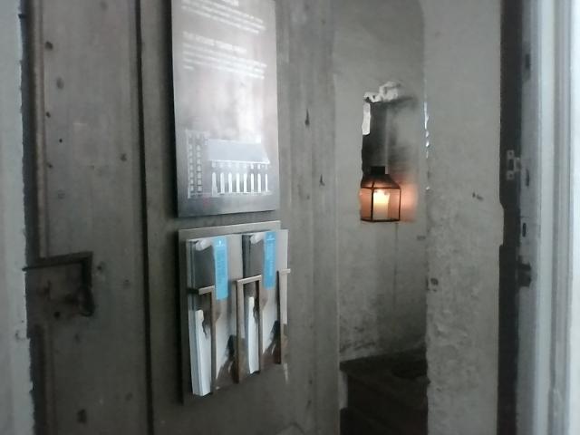 Старинный туалет в Rundetaarn