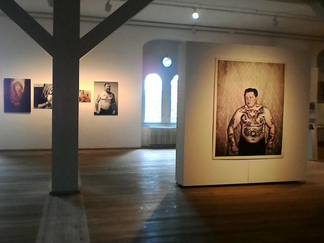 Временные выставки в прежнем помещении библиотеки