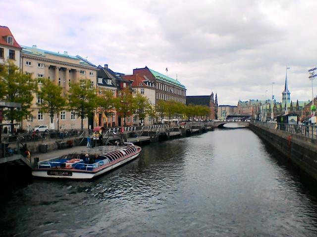 Прогулка на катере по каналам Копенгагена