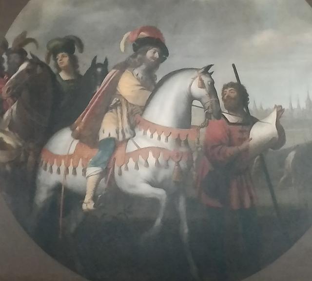 Картины с похожими на мушкетеров