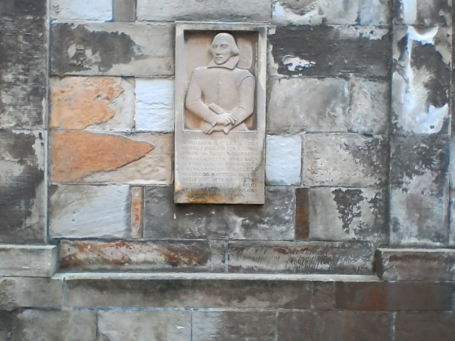 Портрет Шекспира в Кронборге