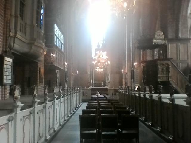 Церковь Девы Марии внутри, Хельсингер