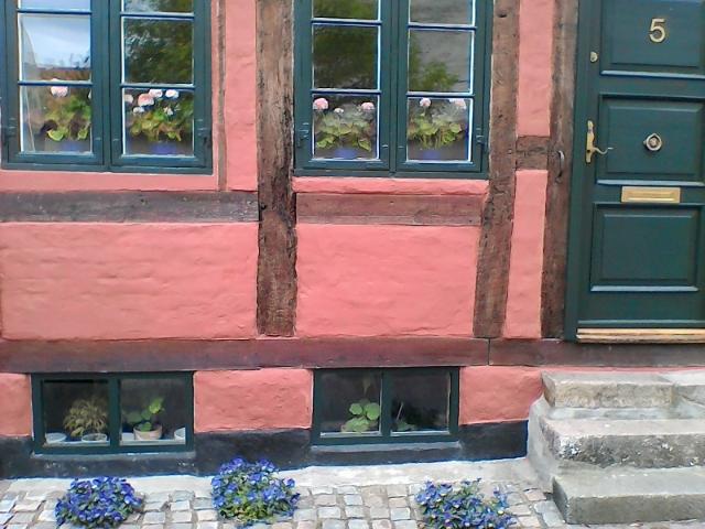 Розовый домик в Эльсиноре