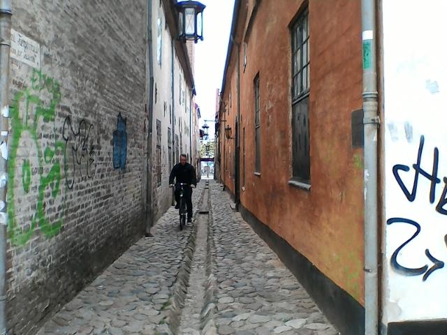Узкая улица Хельсингера