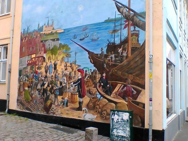 Уличная живопись Хельсингер