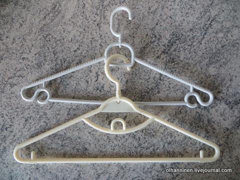 01 вешалки подходящие для вешания одежды лесенкой.JPG