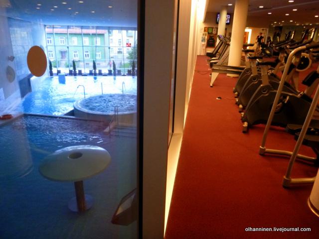 отель спа спортзал