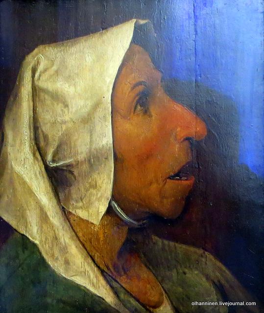 Питер Брейгель Старший. Портрет старухи, 1563