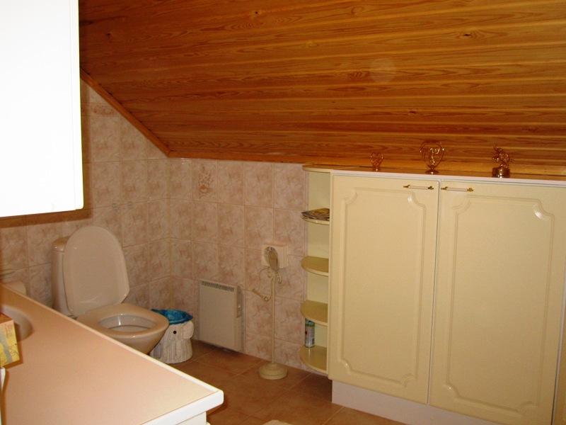 Туалет и душ на втором этаже